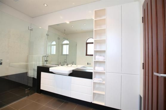 tall shelving maybe beside vanity Bathroom Design Ideas by Dwell