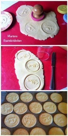 Marions Kochbuch Weihnachtsplätzchen.Marions Bastelstübchen Stempel Keks Rezept Mit Geling Garantie