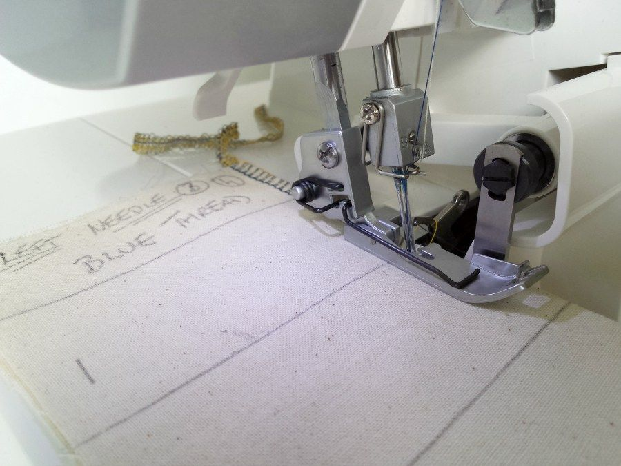 How To Nail Serger Tension Once And For All Sewing Pinterest