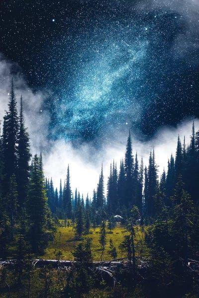 Alpine Dreamland Canvas Art by Zach Doehler | iCanvas