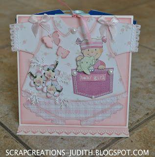 scrapcreations-judith: Hier dan de babykaart waar ik het in mijnlaatste ...