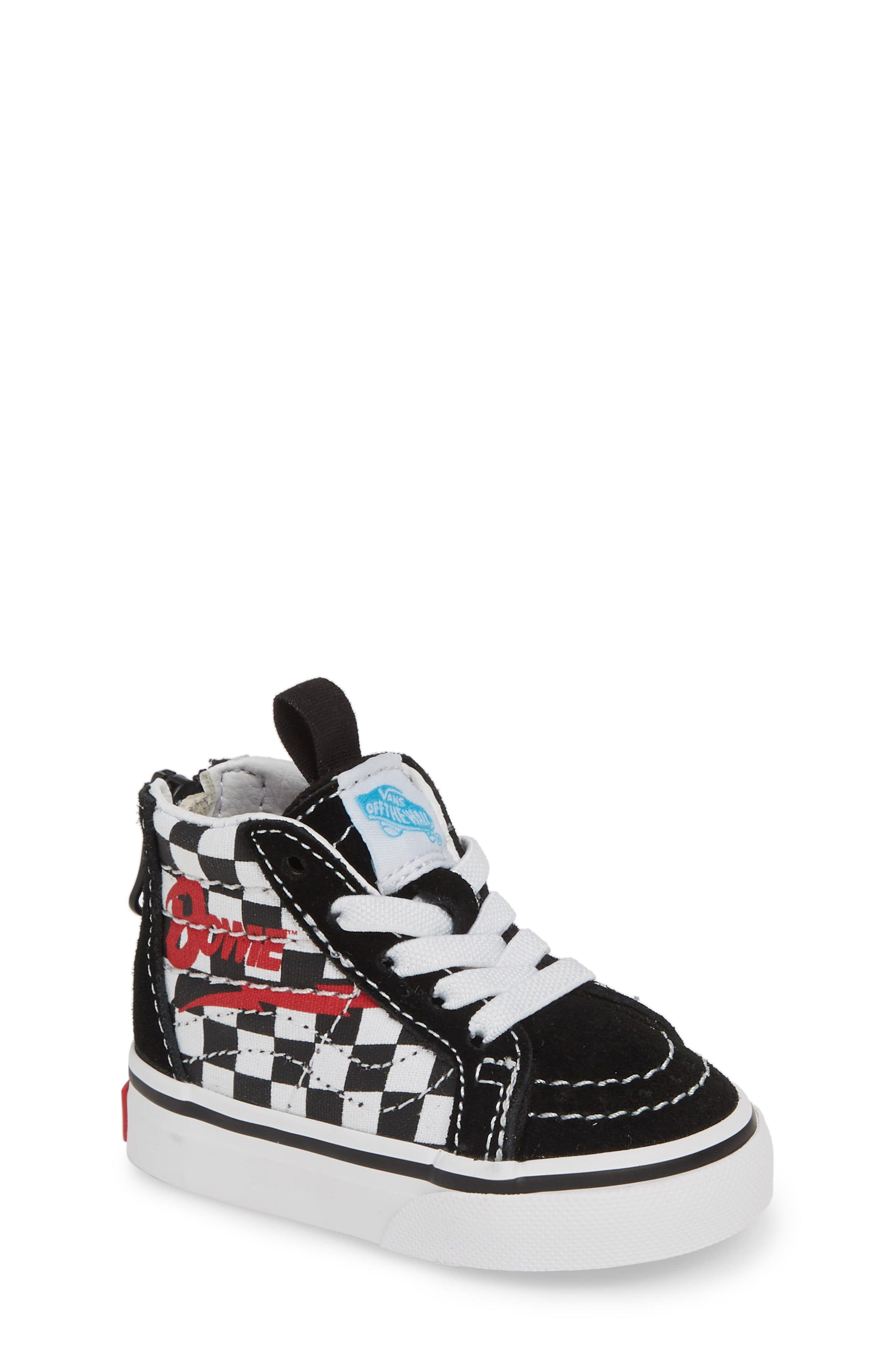 Vans x David Bowie Sk8 Hi Zip Sneaker in 2019   Products