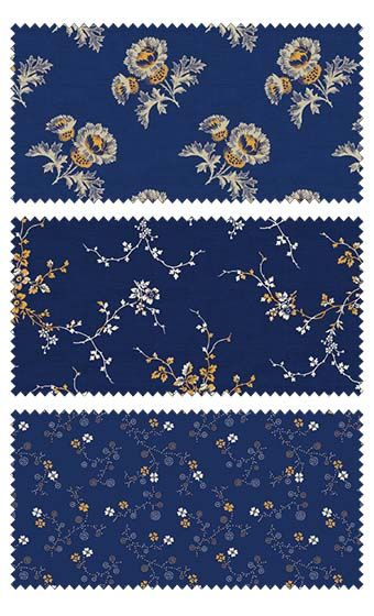 Cheddar & Indigo by Penny Rose Studios for Penny Rose Fabrics—Subscribe to our newsletter at http://www.rileyblakedesigns.com/newsletter/