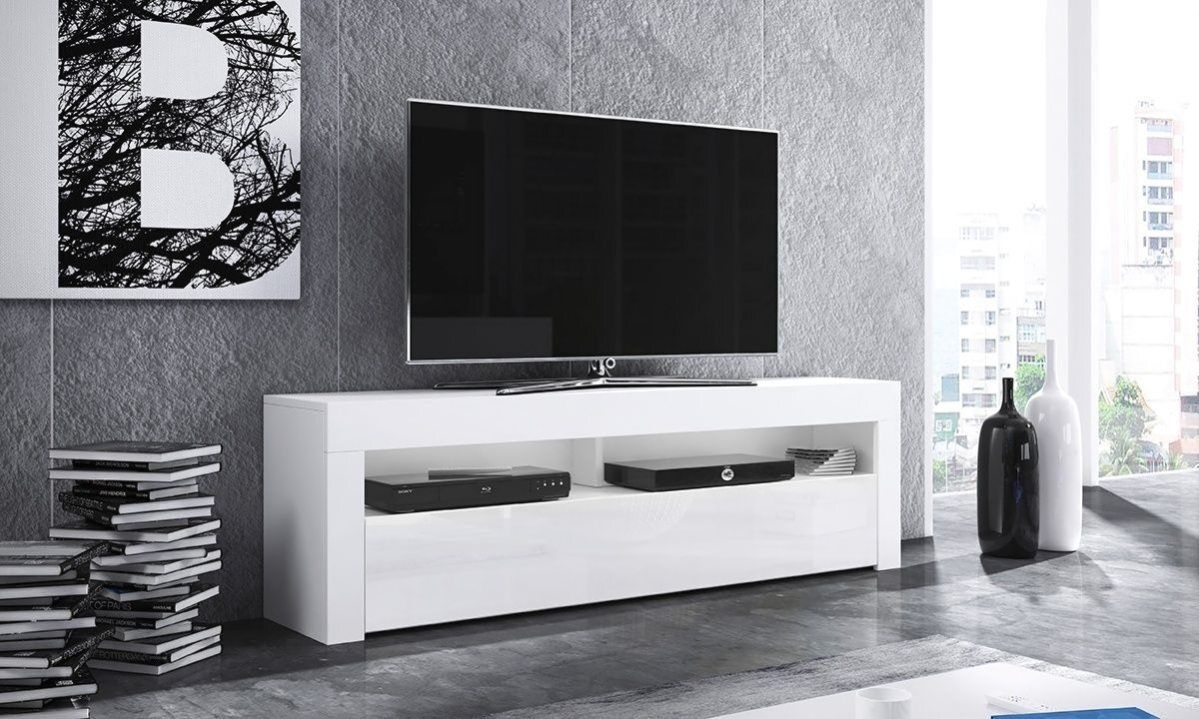 Selsey Alan Meuble Tv Avec Phares A Led En Option En 2020 Meuble Tv Armoire Tv Decoration Salon Moderne