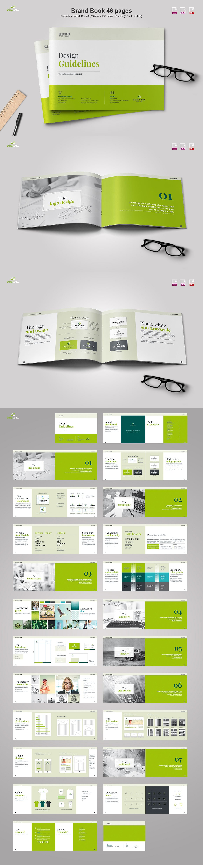Landscape Brand Book | Pinterest | Brand book, Template and Design ...