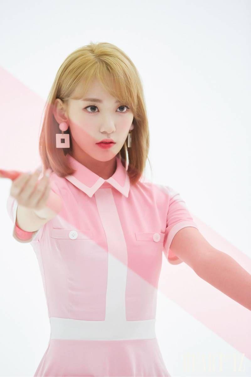 IZ*ONE 2nd mini album 'HEART*IZ' jacket shooting  | IZ*ONE