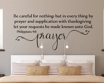 Kjv Wall Decal Etsy Inspirational Wall Decals Wall Decals