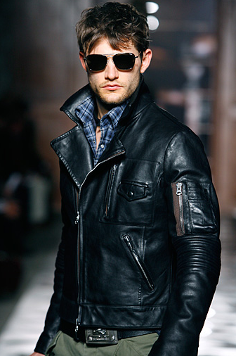 Michael Bastian Motorcycle Jacket Well Dressed Men Leather Jacket Men Mens Outfits