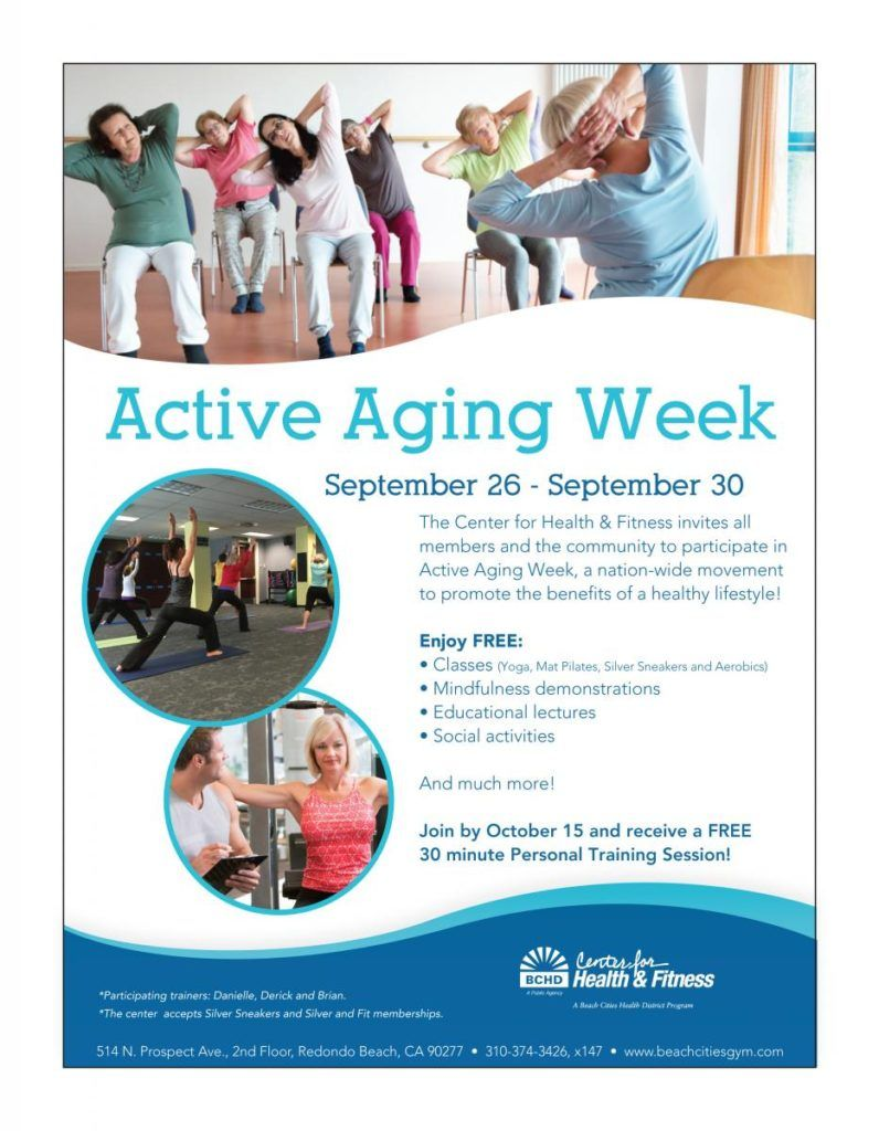 Active aging week south bay by jackie social