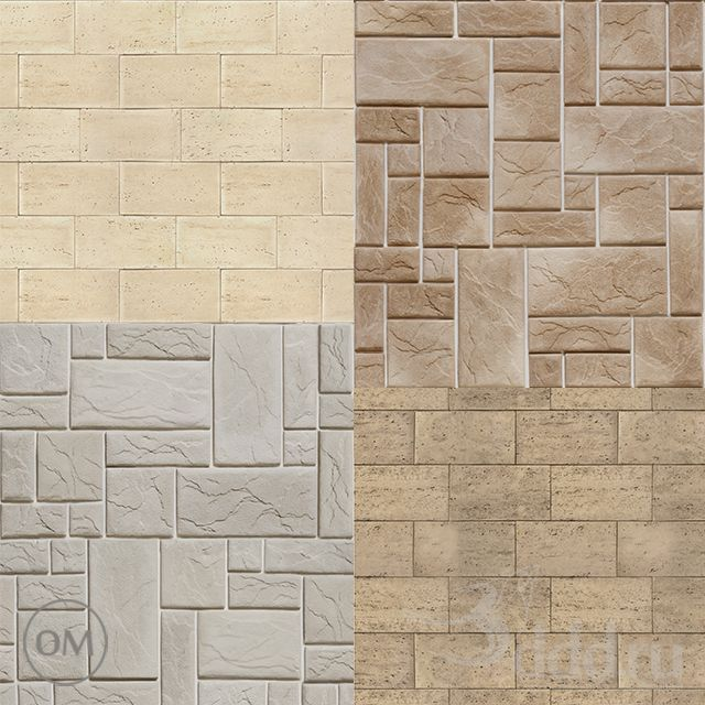 "Decorative Stone Tiles Camelot""decorative Stone Part 1 Текстура  Stone  3Dsky  3D"