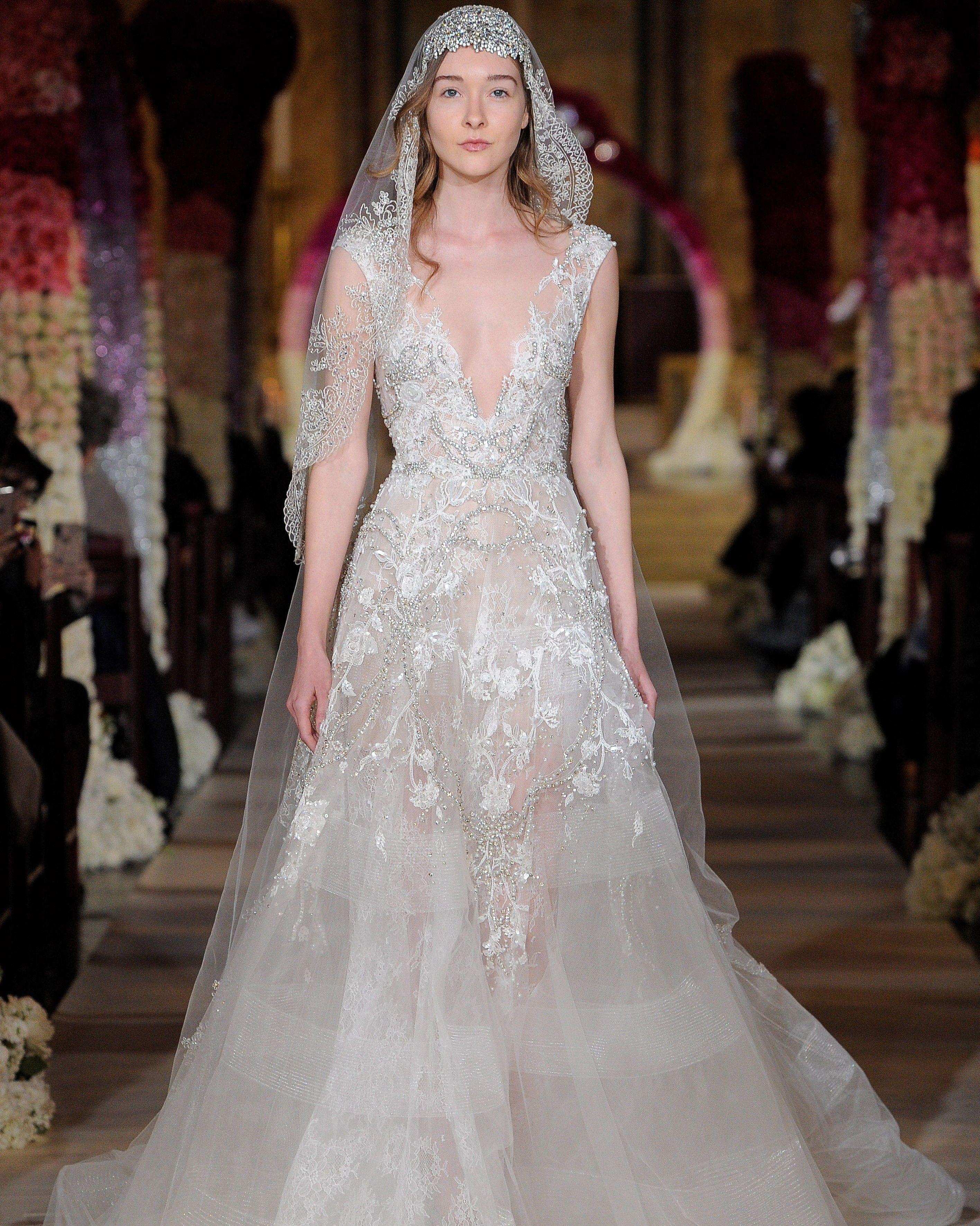 ea4ead143a0b Reem Acra Spring 2020 Wedding Dress Collection | Bridal Fashion Week ...