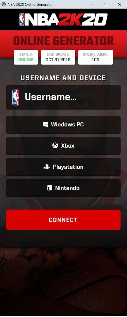 nba 2k20 hack and cheats online generator for ps4, xbox