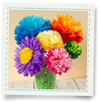 Tissue paper flowers how to party city craft ideas pinterest party ideas birthday ideas holiday baby shower more party city mexican paper flowerstissue flowerstissue paper flowersdiy mightylinksfo