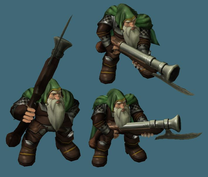 Rifleman Warcraft Development Character Design