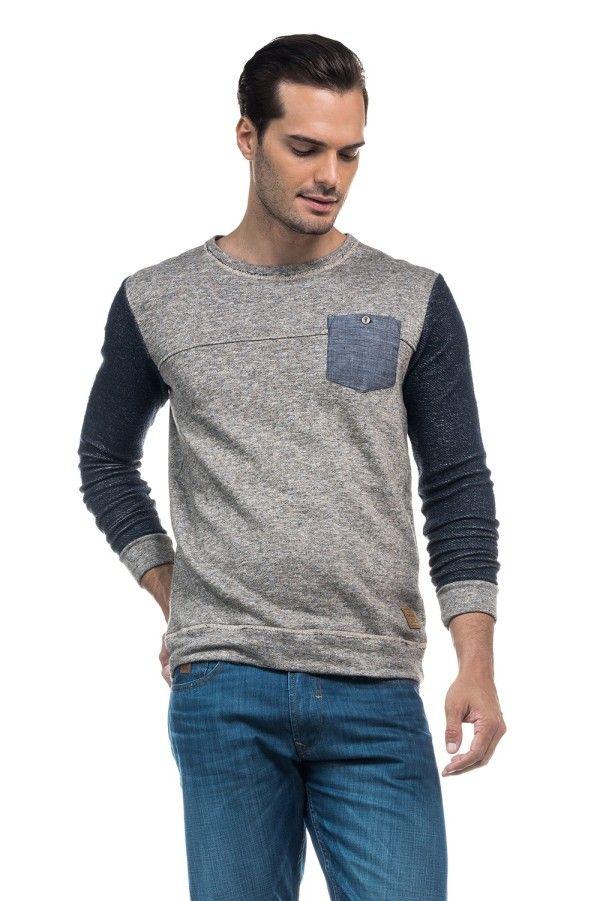 Catálogo Salsa para hombre Verano 2016- Camiseta de algodón en