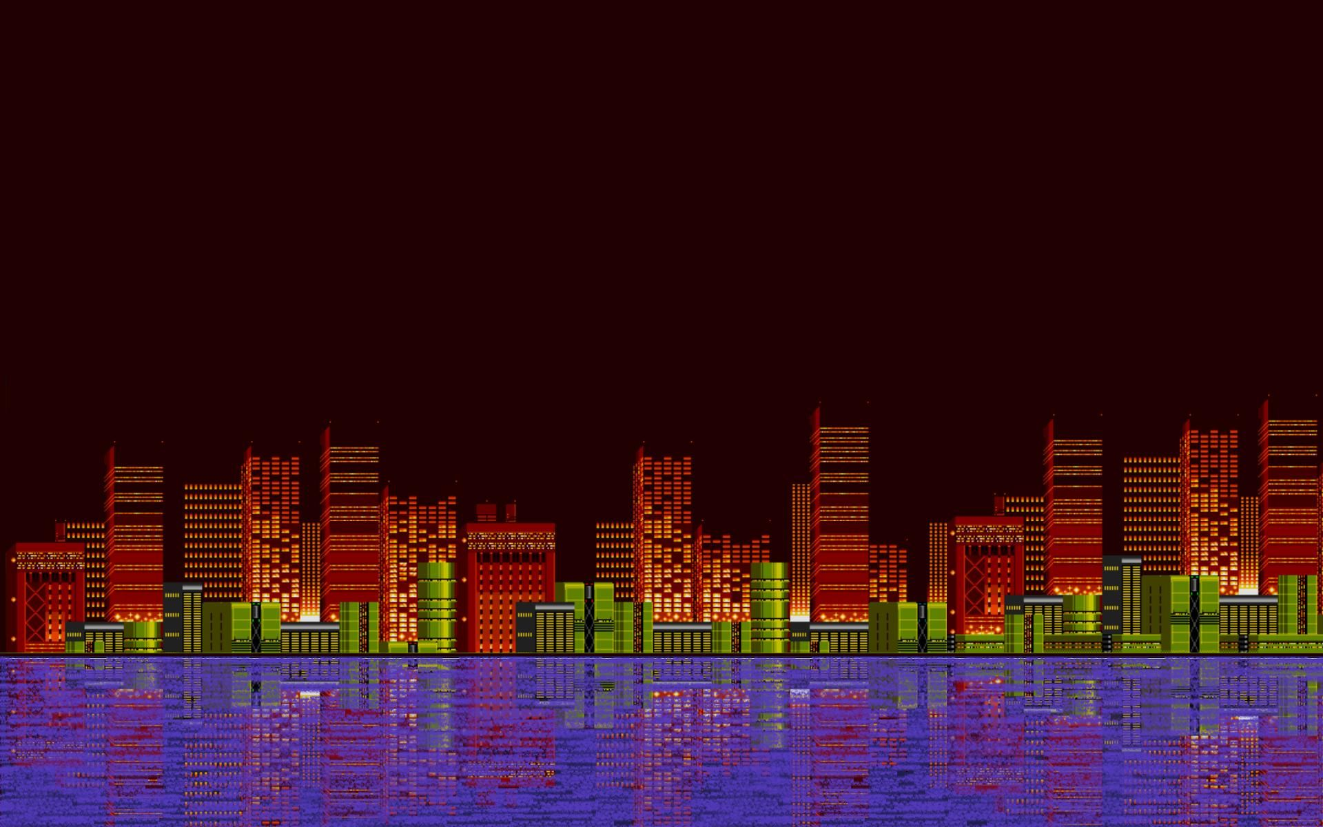 The Magic Of The Internet Pixel Art Miami Wallpaper Free Download Pictures