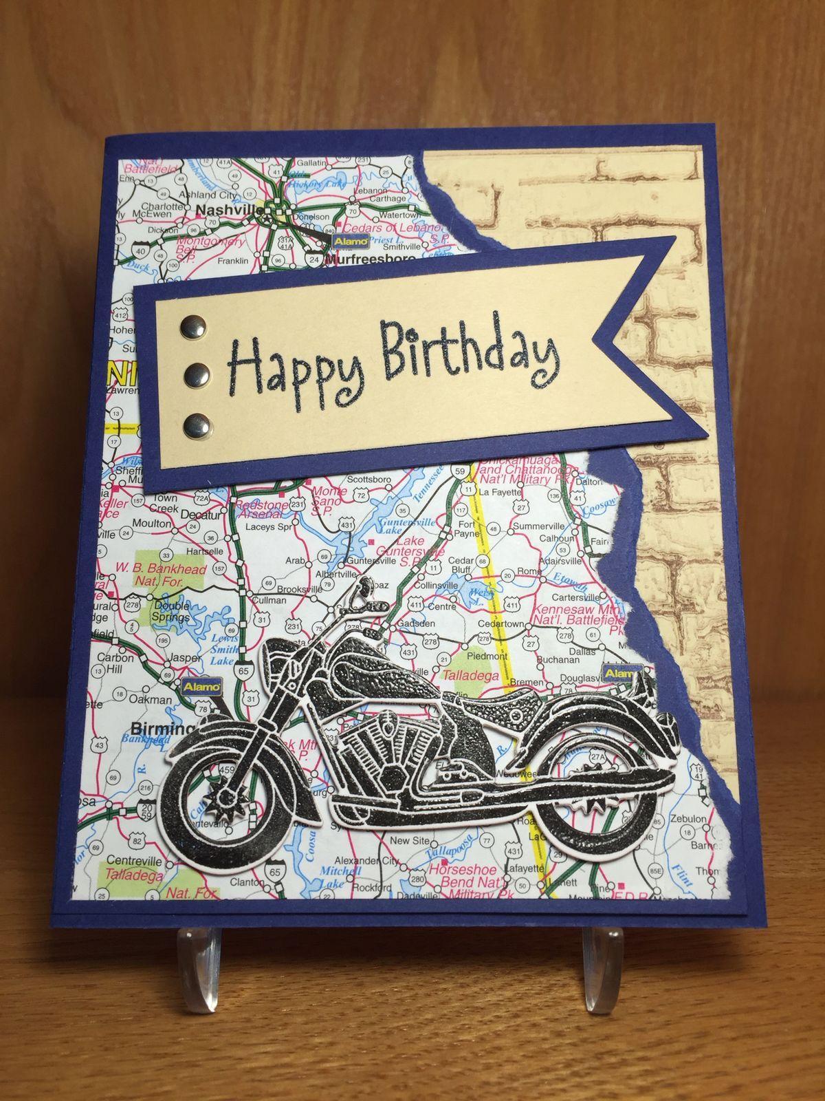 Masculine Birthday Cards Handmade Male For Men