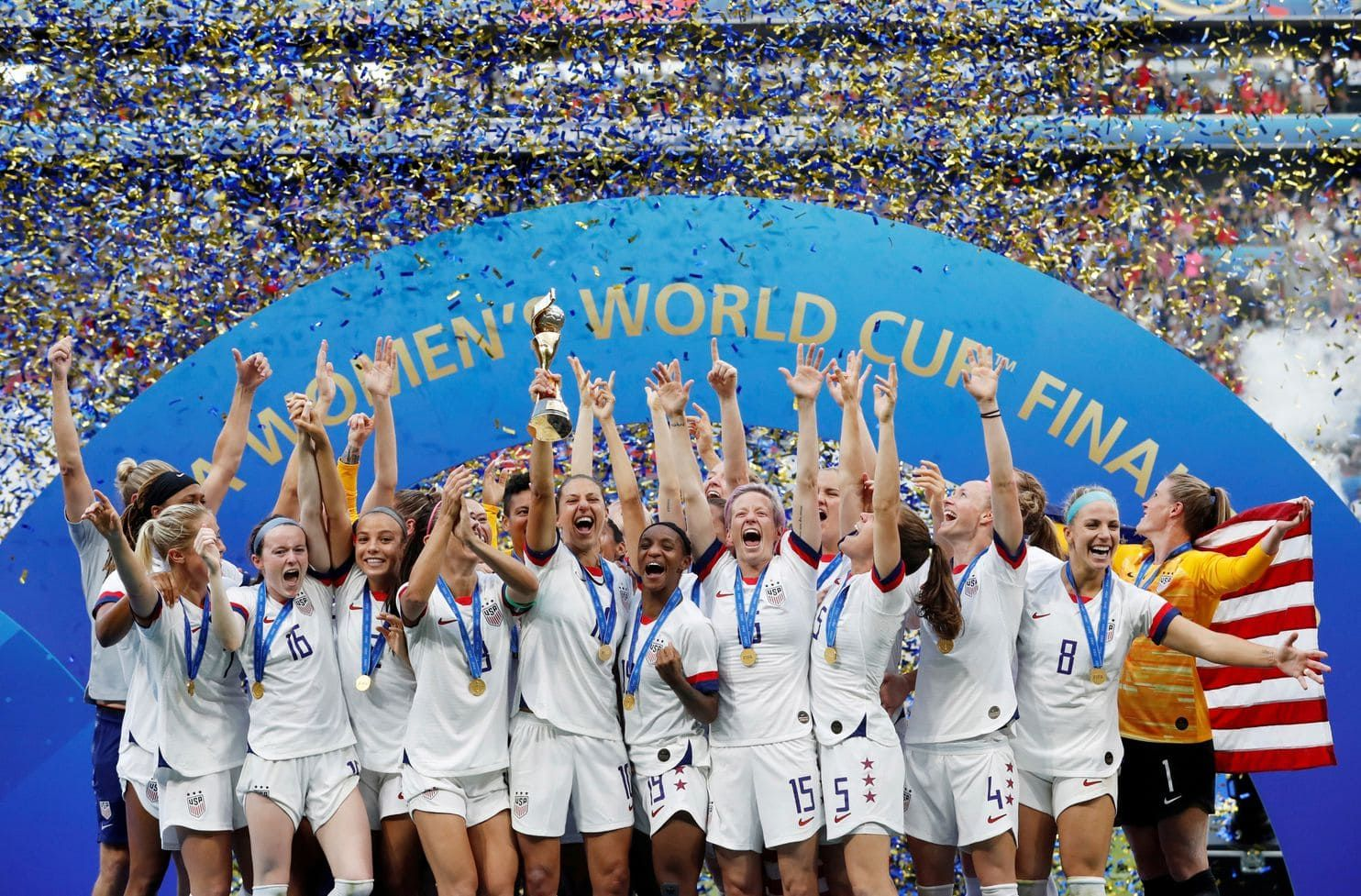 Trumps Obamas Clintons Congratulate Uswnt After World Cup Triumph With Images Usa Soccer Women