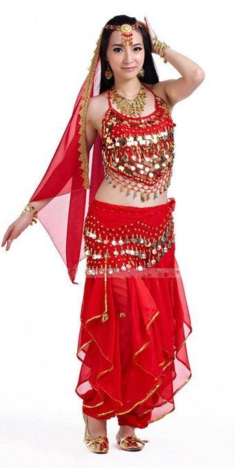 ae1e059dd9df Angela Peppers rotary dance pants 128 coins waist chain belly dance ...