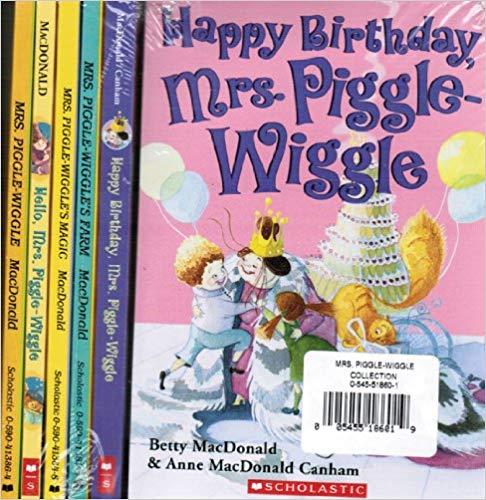 Mrs Piggle Wiggle 5 Book Collection Mrs Piggle Wiggle Hello Mrs Piggle Wiggle Mrs Piggle Wiggle S Magic Mrs Pi Quirky Books Books Elementary Age Books