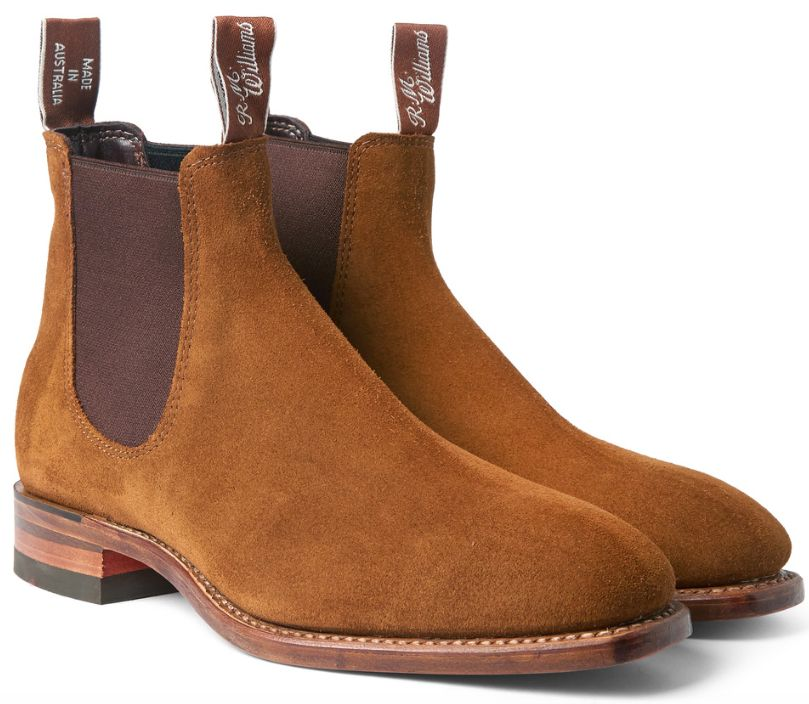 R.M.WILLIAMS - suede leather chelsea boots from Australia.   R M ... 1c0c278cd4