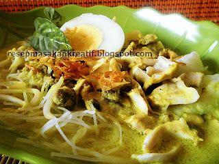 Resep Laksa Kuah Ayam Bumbu Oncom Khas Bogor Resep Masakan Resep Masakan Indonesia Masakan