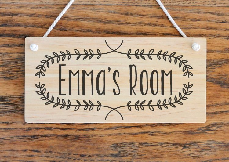 Pin By Taylor Gall On Cricut For Kids Wooden Door Signs Wooden Name Signs Kids Door Signs