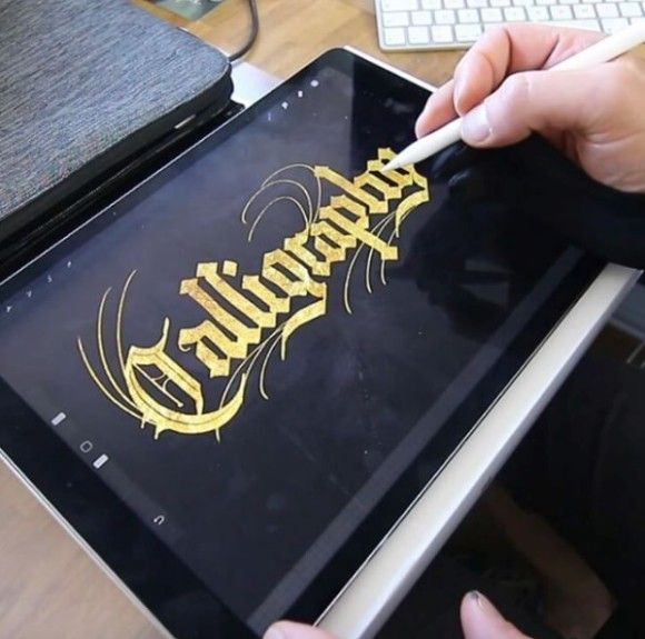 Ako vznika kaligrafia na iPade?