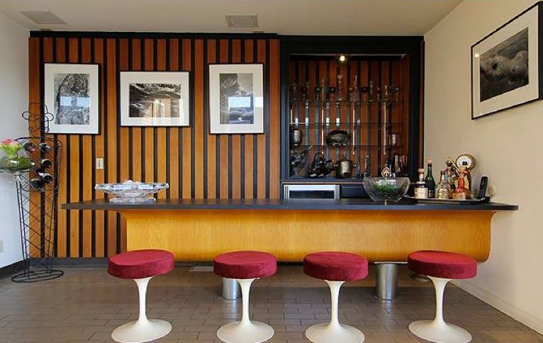 Mid Century Home Bar Google Search