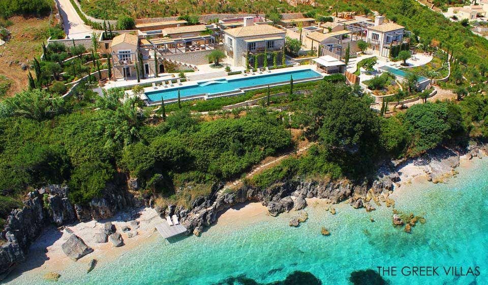 Corfu Luxury Villas, Luxury Villa rentals in Corfu , Gaia Estate - maison france confort brignoles
