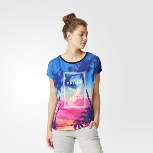 adidas - Camiseta Printed Mesh