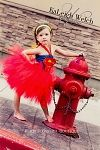Superman - Hero Inspired Tutu Dress - by Purple Orchid Boutique