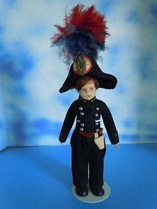 "Rare! Anitque Vintage 9"" Lenci Mascotte French Soldier Napoleon Cloth All Orig.   eBay"