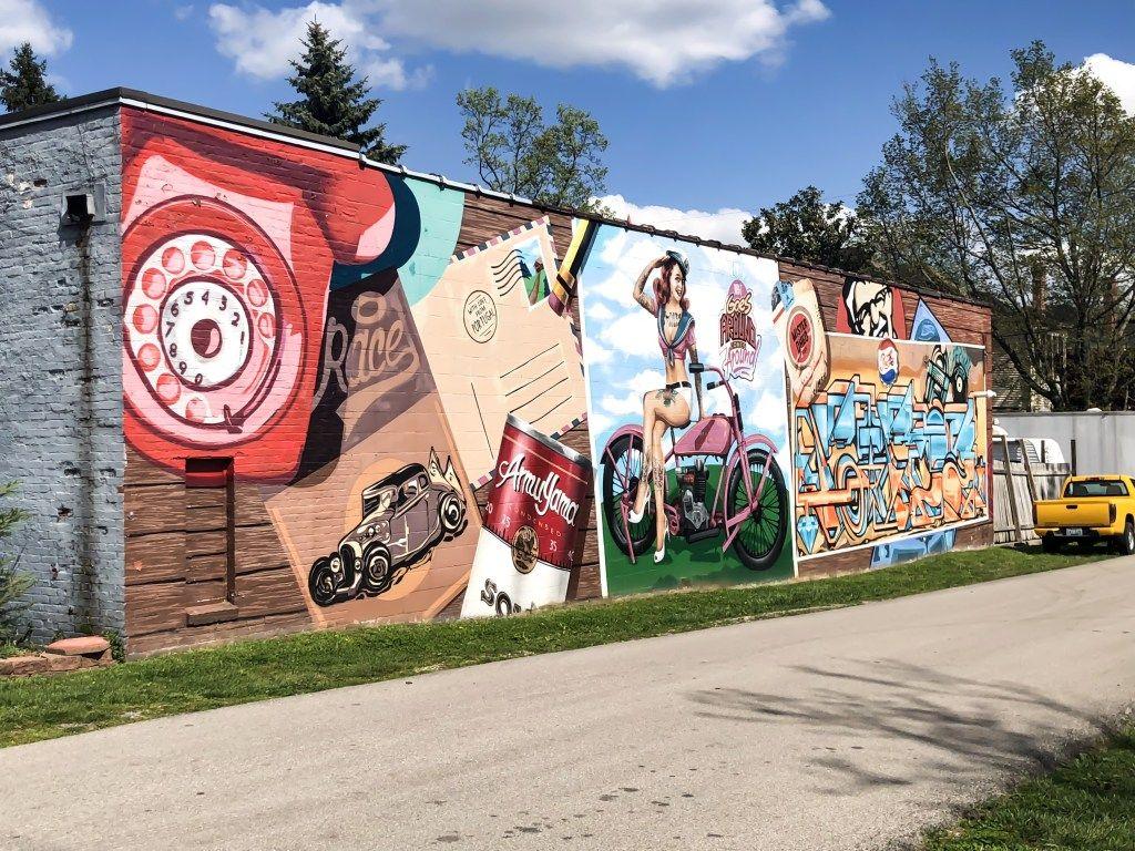 Street Art And Murals Of Lexington Kentucky Volume Ii Street Art Kentucky Travel Jefferson Street