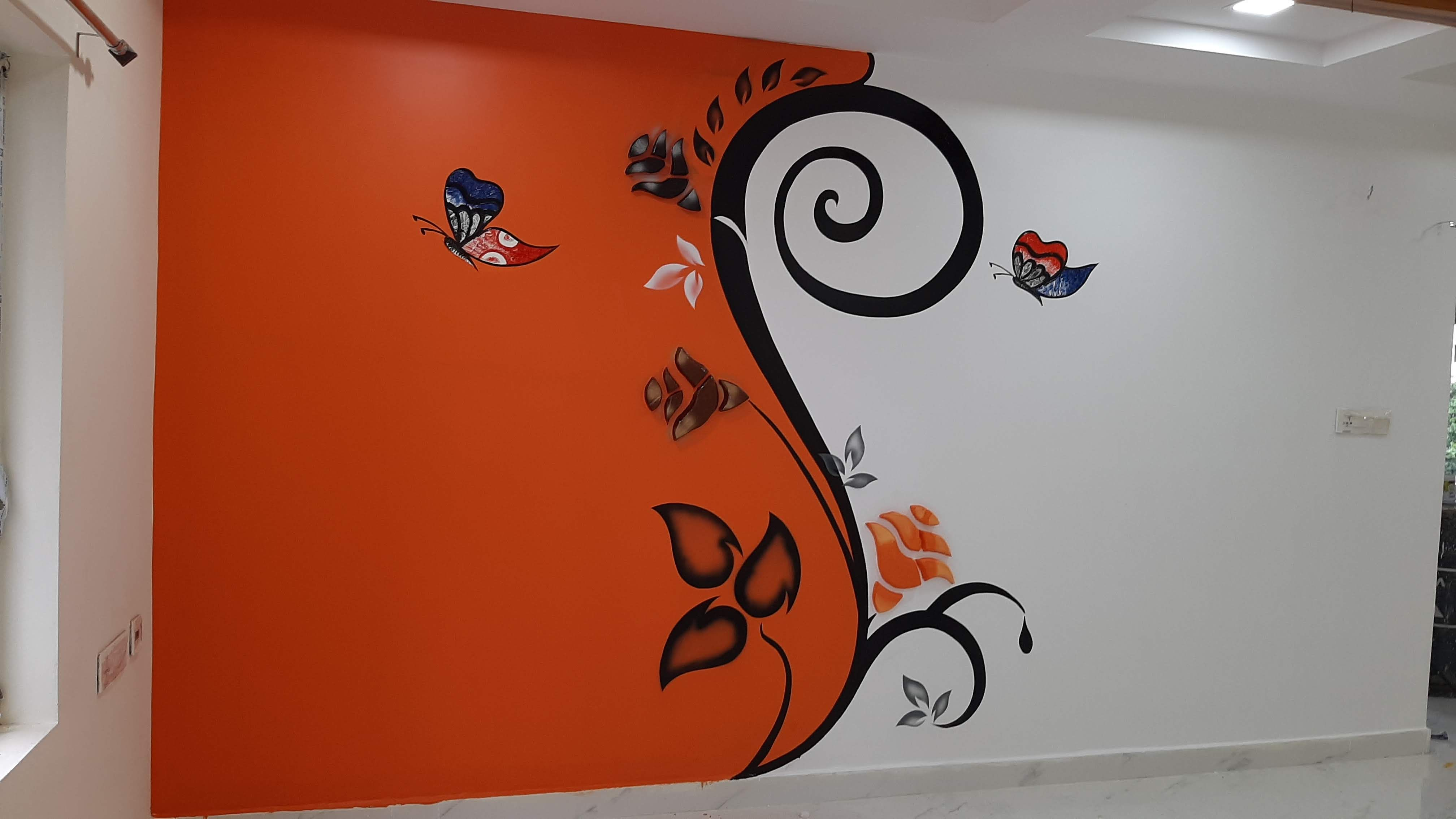 Creative Mural Wall Texture Design Ideas And Techniques Diy Wall Texture Design Wall Paint Designs Creative Wall Painting