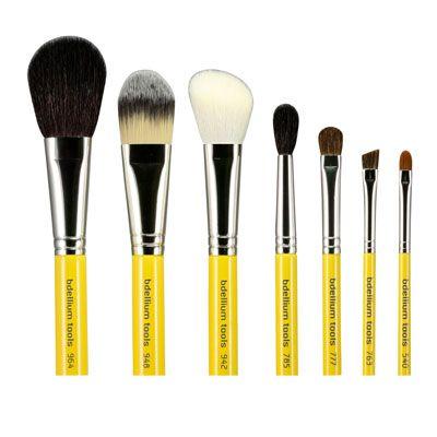 bdellium studio basic 7 piece brush kit  makeup artist