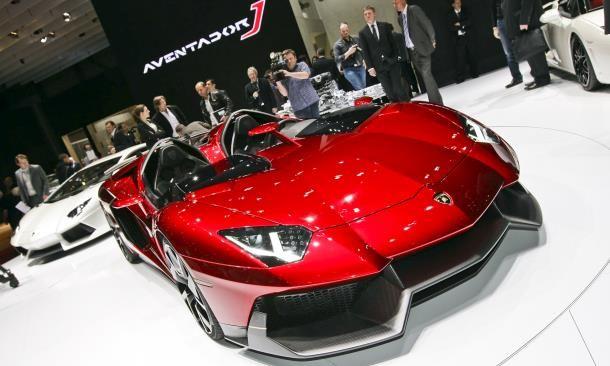 Lamborghini Aventador J Magic Car Pics Microsoft Toys Geneva