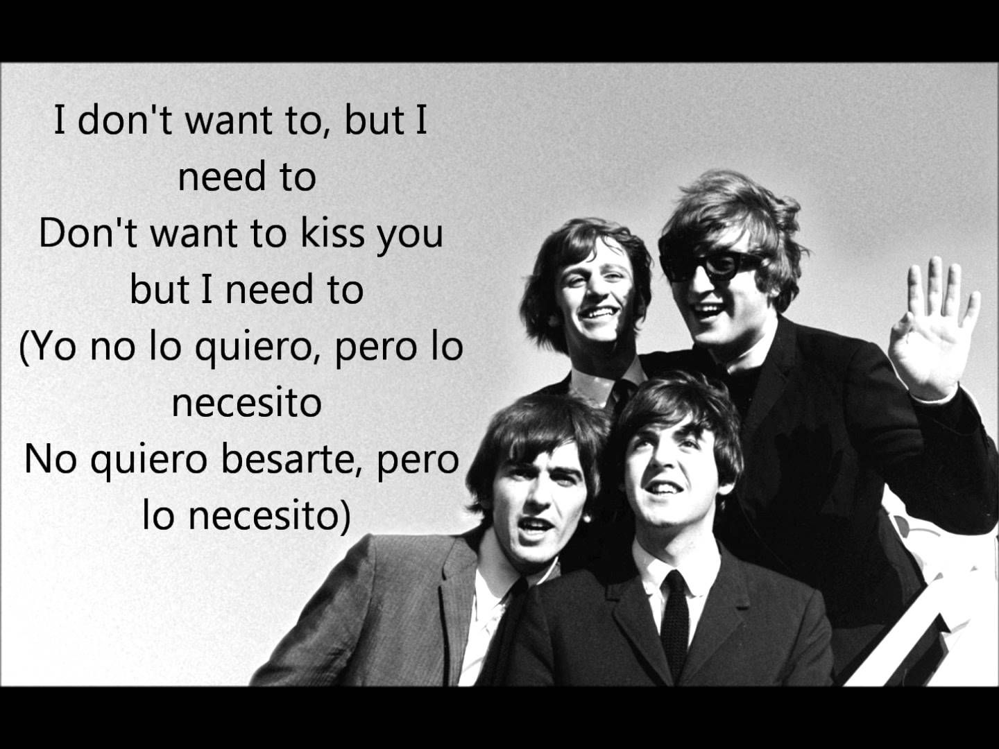 The Beatles You Really Got A Hold On Me Letra Lyrics