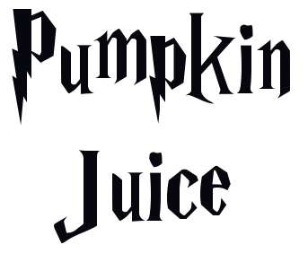 Harry Potter Font - Harry Potter Font Generator Pumpkin