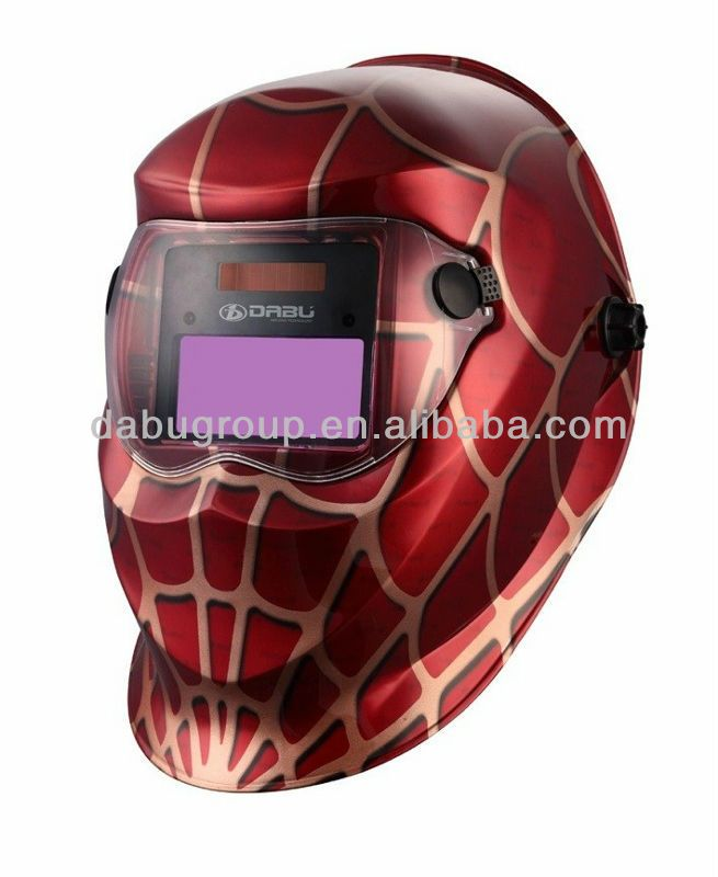 Welding Helmets Fire Skull Big View Area 4 Arc Sensor Solar Auto Darkening Tig Mig Mma Welding Helmet/face Mask/electric Welder Mask/goggles Durable In Use