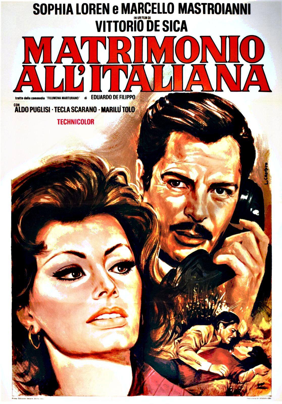 Resultado de imagem para movie poster matrimonio all'italiana