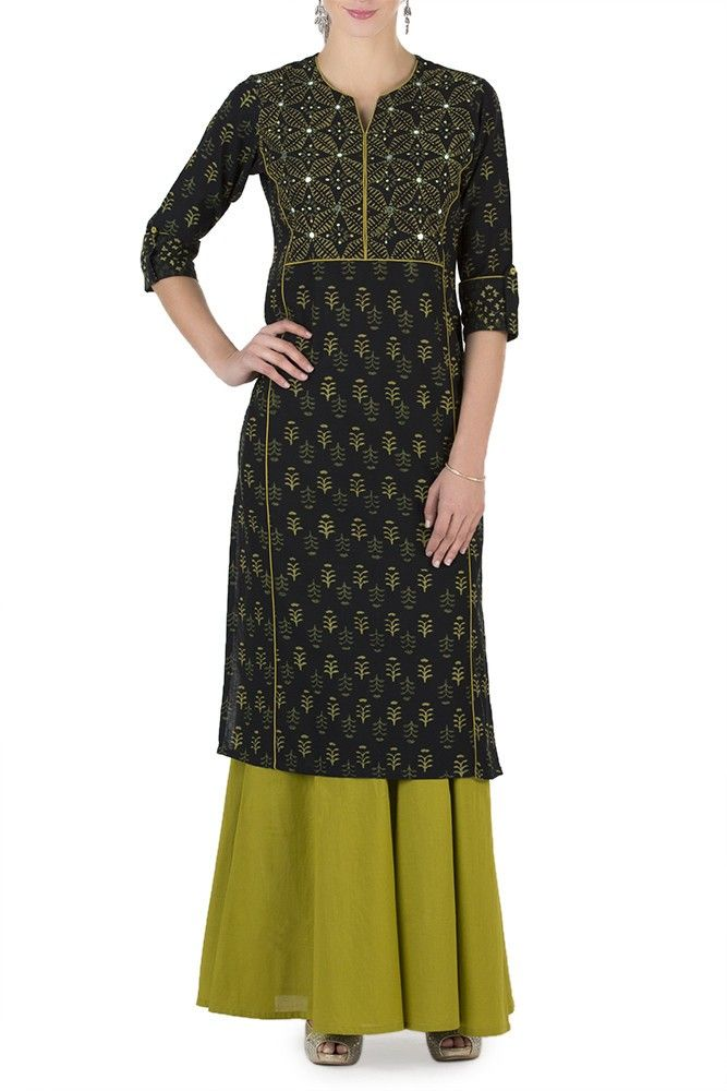b5baacad065a 14 Stylish Kurtas To Wear To Your Office Diwali Party!   Desi Hip ...