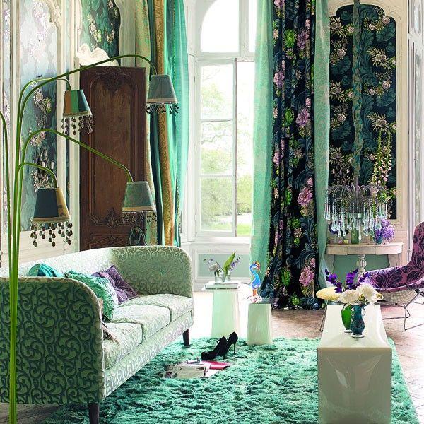 darly tissu designers guild tricia guild. Black Bedroom Furniture Sets. Home Design Ideas