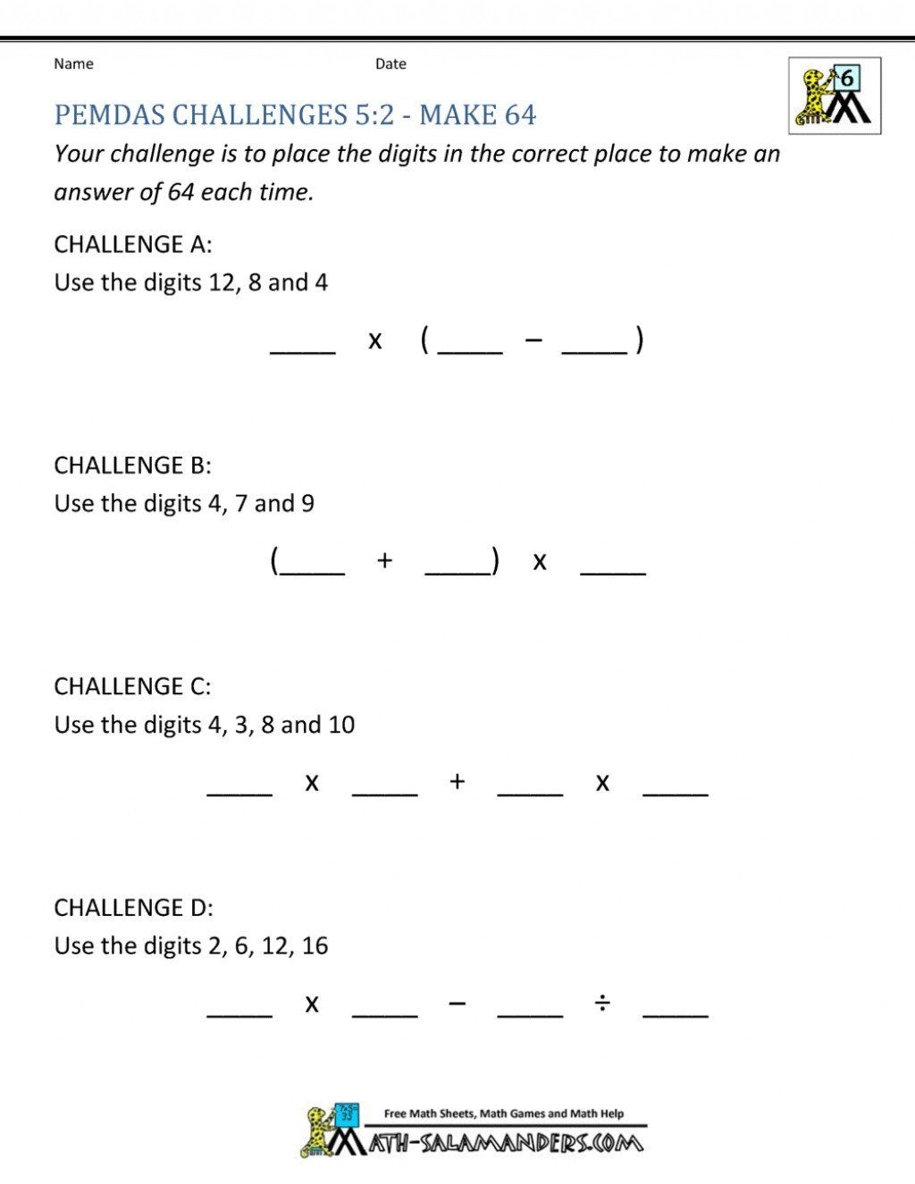 Tape Diagram Worksheet 6th Grade Lcm Worksheet Grade 6 In 2020