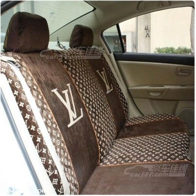 buy louis vuitton lv classic car seat cover limited new car. Black Bedroom Furniture Sets. Home Design Ideas