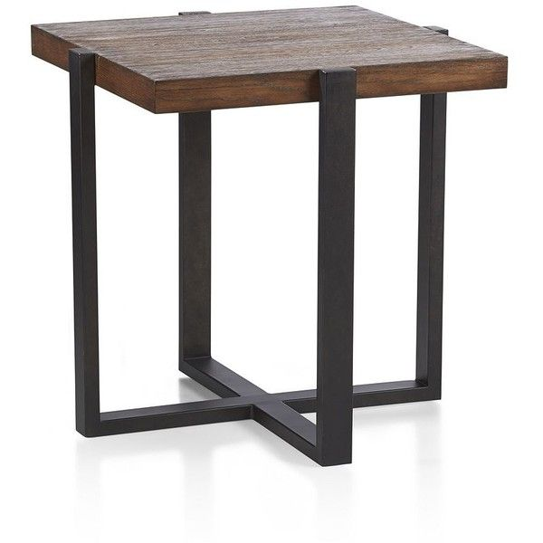 Crate Barrel Lodge Side Table Square Side Table Coffee Table Side Table