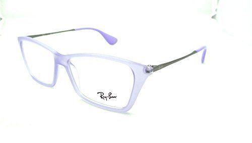 ray ban rx eyeglasses frames rb 7022 5368 52x14 lilac shirley ray ban http