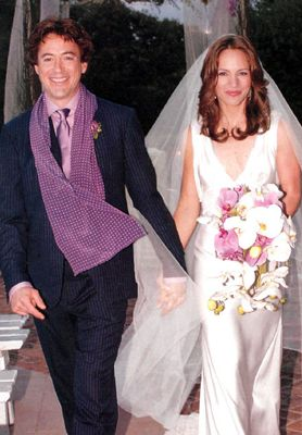 Robert Downey Jr And Susan Levin Were Married In 2005 Celebrity