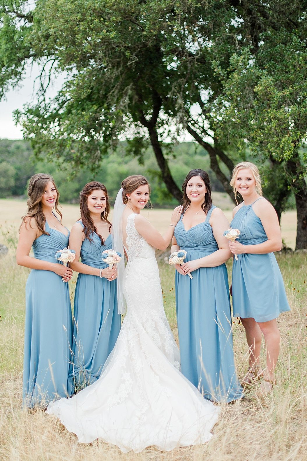 Haley kyle powder blue bridesmaid dresses and ranch weddings dusty blue wedding powder blue wedding slate blue wedding dusty blue bridesmaid dresses ombrellifo Gallery