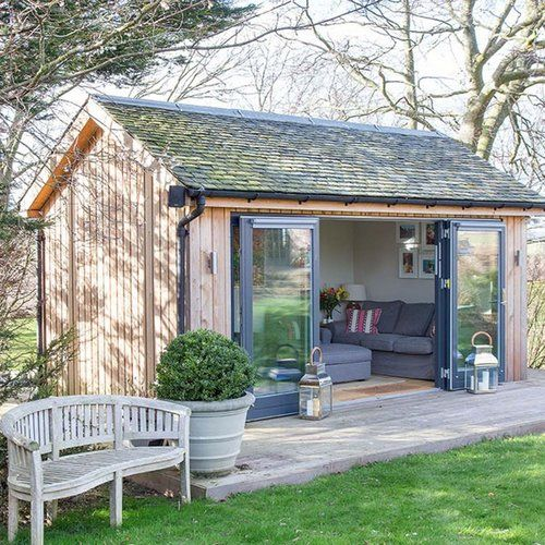 Bathroom Before & After   Shed design, Backyard sheds ...